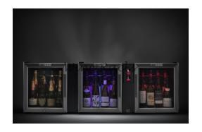 Bermar Tri-Pod Bar Champagne