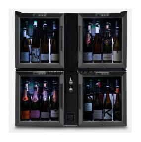 Bermar Quad-Pod Bar Champagne